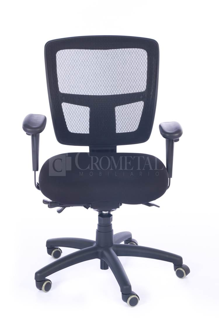 Crometal sillas ergon micas silla secretarial 213ds for Silla secretarial