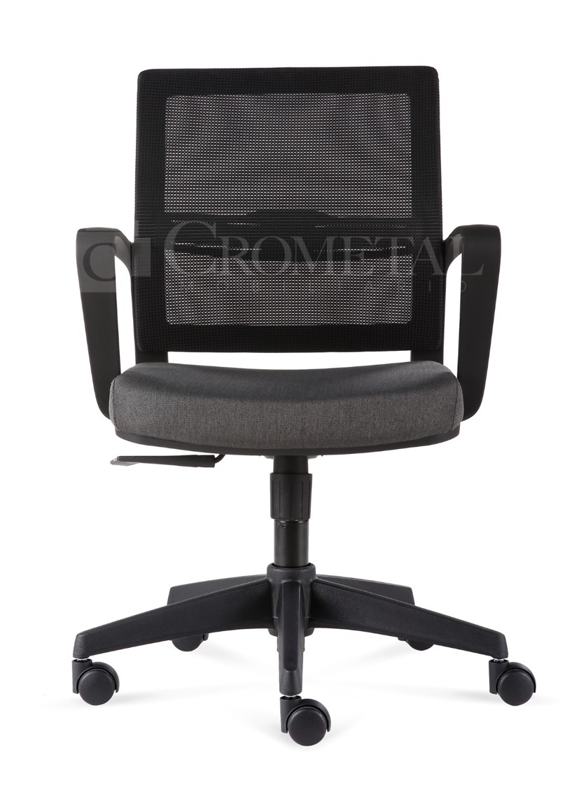 Crometal sillas silla secretarial d00231mf for Silla secretarial