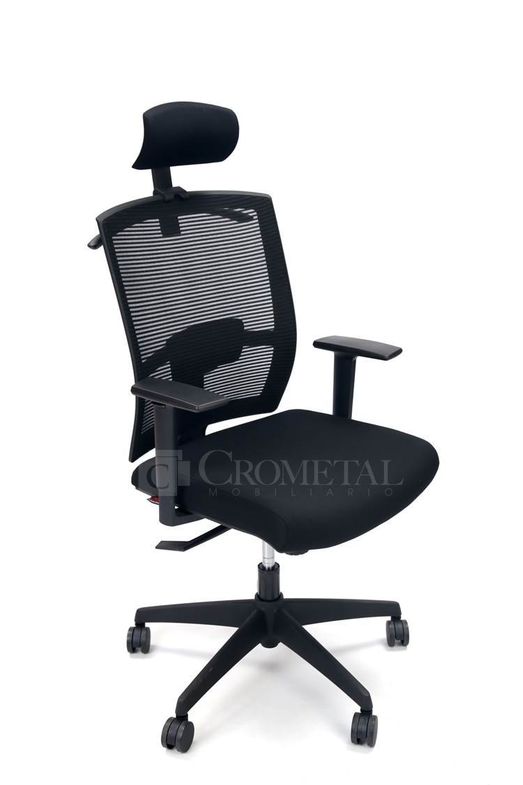 Crometal sillas ergon micas for Silla secretarial